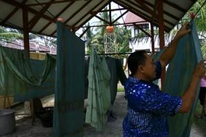 Menjemur Batik