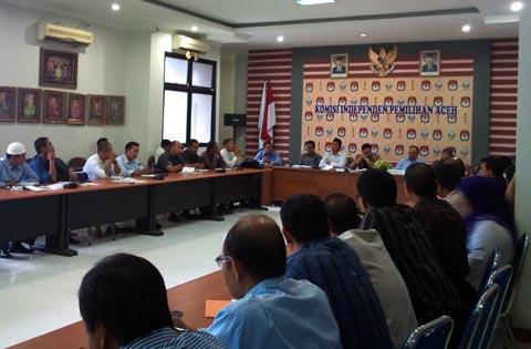 Rapat KIP Aceh