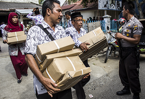 Distribusi Soal UN Aceh Utara