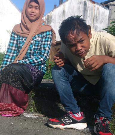 Arif dan Raudhatul Jannah | FOTO: Nurdin Hasan/ACEHKITA.COM