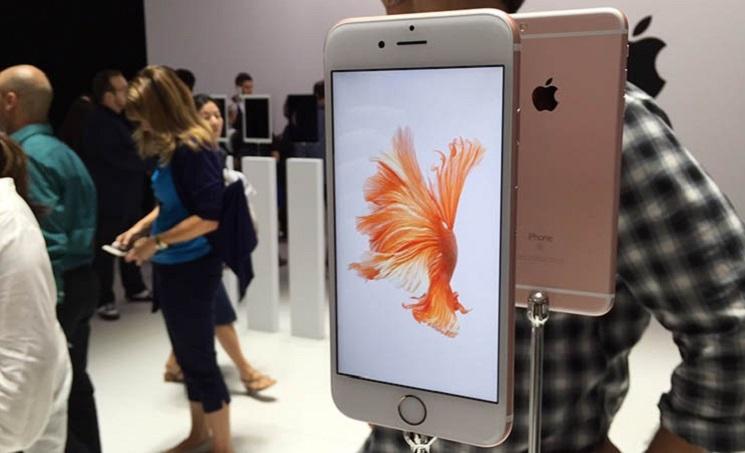 iPhone 6s hadir dengan warna Rose Gold. | FOTO: macrumours.com