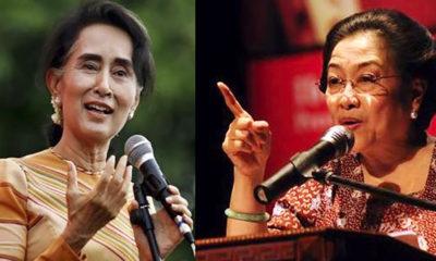 Suu Kyi dan Megawati