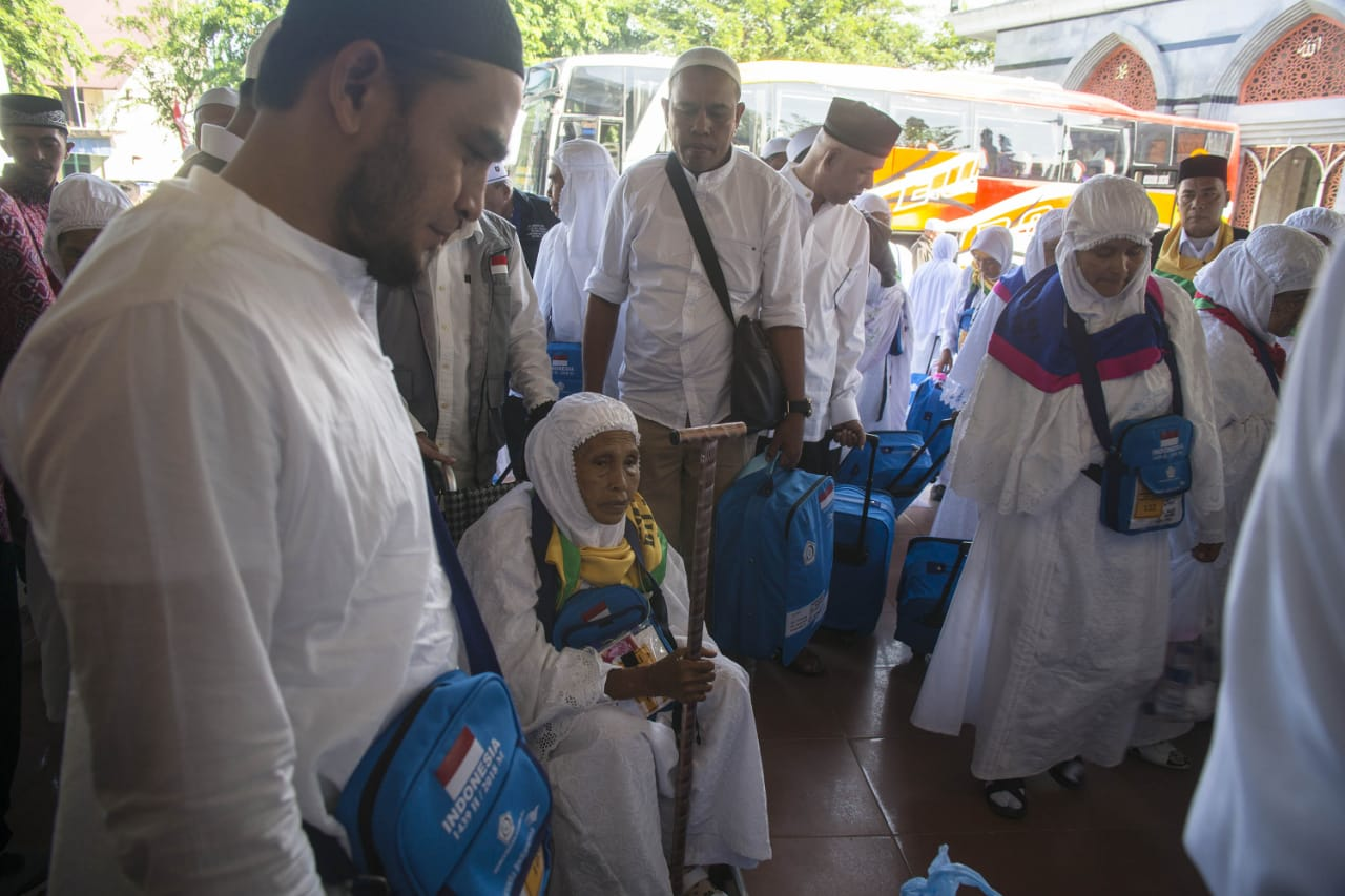 Jemaah Haji Kloter Terakhir Tiba di Aceh
