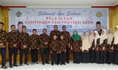 12 Siswa Madrasah Ini Wakili Aceh di Kompetisi Sains Tingkat Nasional