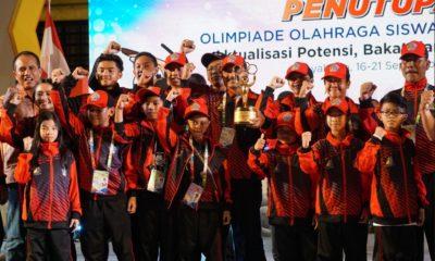 O2SN 2018: Aceh Bawa Pulang 6 Medali, Bali Sabet 32 Medali