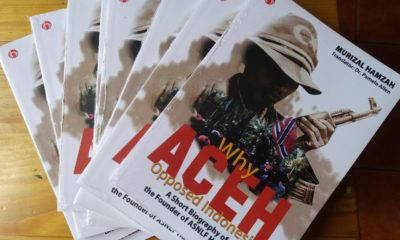 Buku Biografi Deklarator Gerakan Aceh Merdeka Diterbitkan dalam Bahasa Inggris