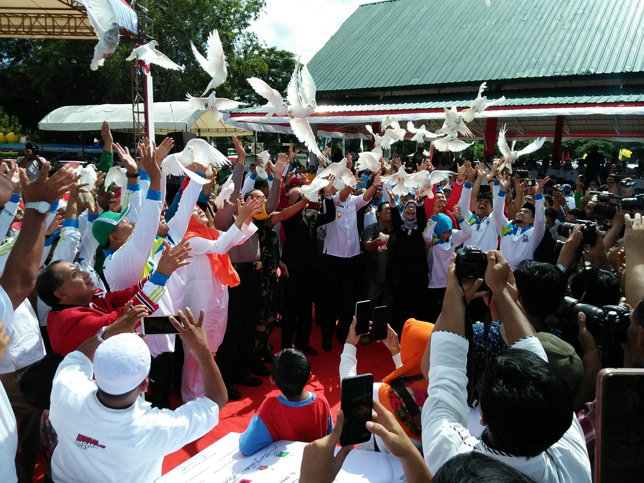 Komitmen Bersama Hadirkan Pemilu Damai 2019 di Aceh