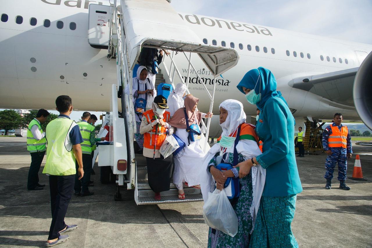Kloter Terakhir Jemaah Haji Aceh