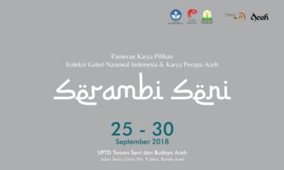 "30 Karya Perupa Aceh ""Serambi Seni"" Dipamerkan di Taman Budaya"