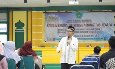 Kepala LAN Aceh: Kemajuan Bangsa Ada Pada Karakter Masyarakat