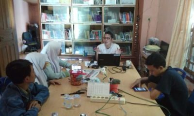 Mengenal Organisasi Jurnalis, Siswa SMA Labschool Unsyiah ke AJI Banda Aceh