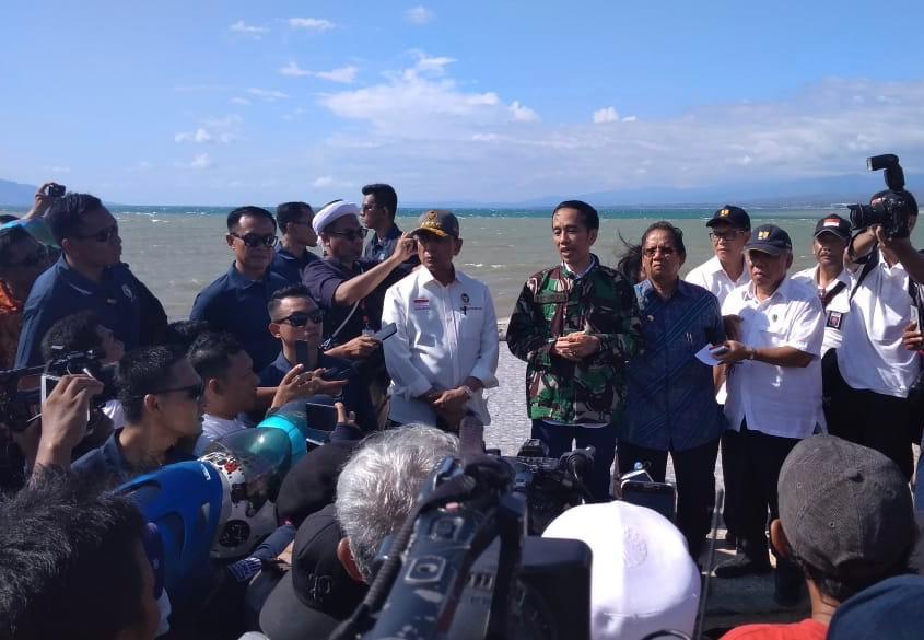 Presiden Jokowi Pastikan Pemerintah Gerak Cepat Atasi Dampak Gempa Palu