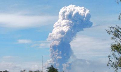 Gunung Soputan Meletus, Tinggi Kolom Abu Vulkanik 4 Km