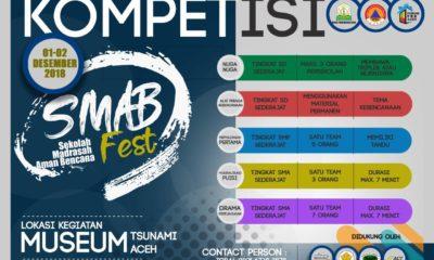 Mitigasi Bencana Lewat Festival SMAB 2018