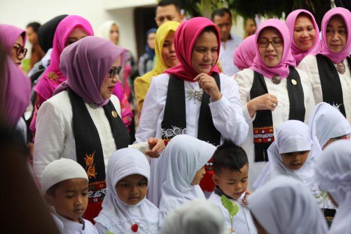 Di Aceh, Ibu Negara Tinjau PAUD Hingga Sosialisasi Antinarkoba