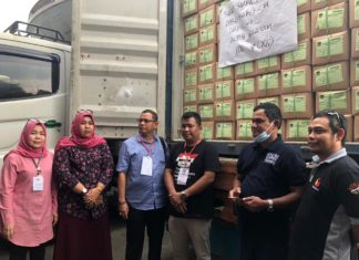 Panwaslih Aceh Pantau Distribusi Surat Suara di Belawan