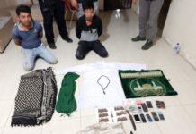 Polisi Tangkap Dua Pria Diduga Pelaku Kriminal Bersenjata di Aceh