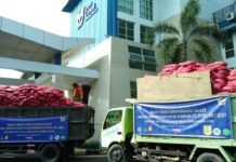 30 Ton Bawang Sitaan Bea Cukai Kuala Langsa Dihibahkan untuk Warga