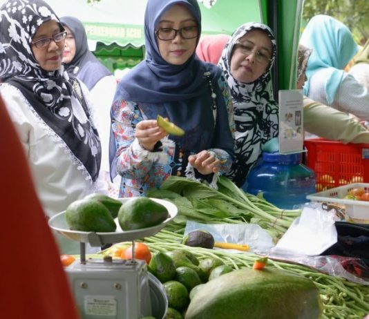 Berburu Sajian Dapur di Pasar Tani