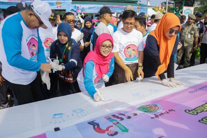 Deklarasikan Geunting, Aceh Komitmen Bebaskan Anak dari Stunting Tahun 2022