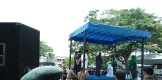 Enam Pasangan Pelanggar Syariat Dicambuk di Banda Aceh