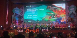Menpar Luncurkan COE Aceh 2019, Tiga Agenda Masuk Kalender Wisata Nasional