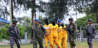 TNI AL Tangkap Kurir Sabu 50 Kilogram Jaringan Thailand di Lhokseumawe