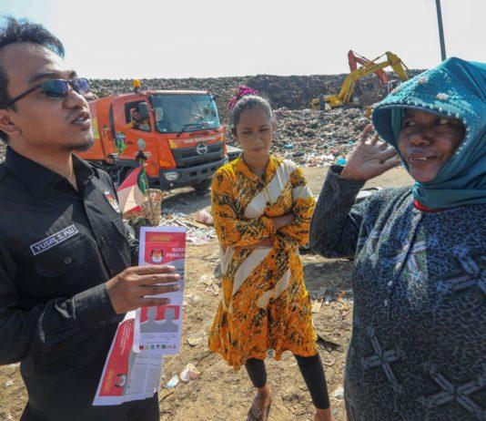 KIP Banda Aceh Gencarkan Sosialisasi Pemilu hingga Rumah Singgah dan Pemulung