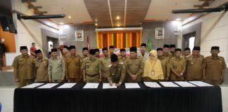 90 Keuchik se-Banda Aceh Teken Piagam Deklarasi Gampong Layak Anak