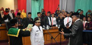 Dilantik Plt Gubernur Aceh, Sarkawi Resmi Jadi Bupati Bener Meriah