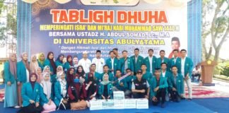 Galang Dana di Tablig Dhuha UAS, Pema Unaya Kumpulkan 6,2 Juta untuk Sentani