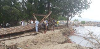 Warga Pesisir Pantai di Abdya Gelisah, Rumahnya Terancam Kena Abrasi