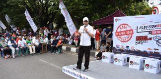 Sosialisasi Election Run Pemilu 2019 di Banda Aceh
