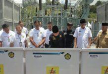 Menteri ESDM Resmikan Tiga Proyek Listrik 450 kV di Aceh
