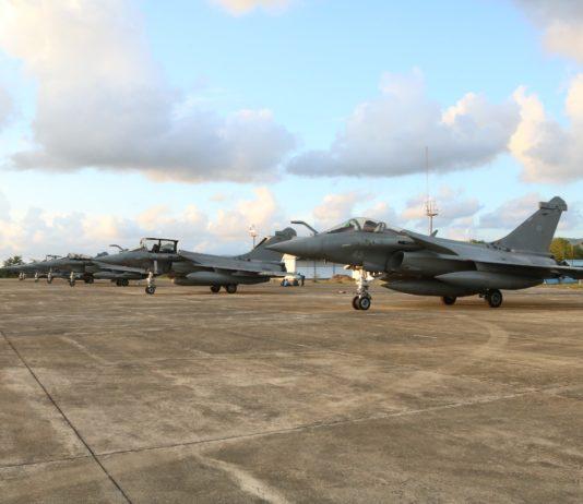 Dihadang Cuaca Buruk, 7 Pesawat Tempur Prancis Mendarat Darurat di Aceh