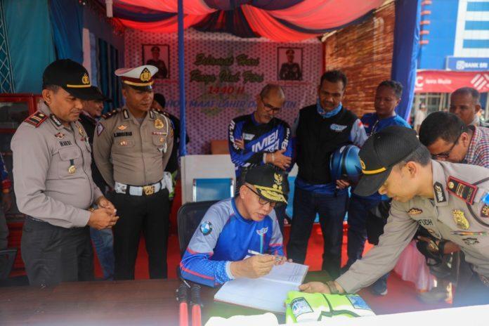 Tinjau Posko Lebaran, Plt Gubernur Aceh Apresiasi Aparatur dan Kritisi Infrastruktur