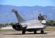 Pesawat Tempur Angkatan Laut Prancis Tinggalkan Aceh