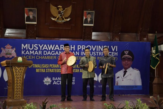 Plt Gubernur: Musprov Kadin Jadi Tonggak Bangkitnya Kejayaan Ekonomi Aceh