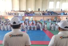 419 Atlet Taekwondo Bertarung Perebutkan Piala Pemerintah Aceh