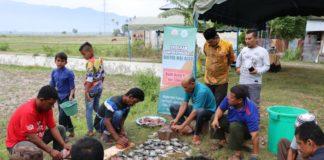BMG Lambarih Binaan Baitul Mal Aceh Panen Perdana Budi Daya Ikan Nila