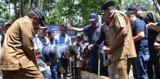Pembangunan 39 Unit Rumah Komunitas Adat Terpencil di Sikundo Dimulai