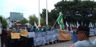 Gerakan Buruh Aceh Konvoi Tolak Rencana Revisi UU Ketenagakerjaan