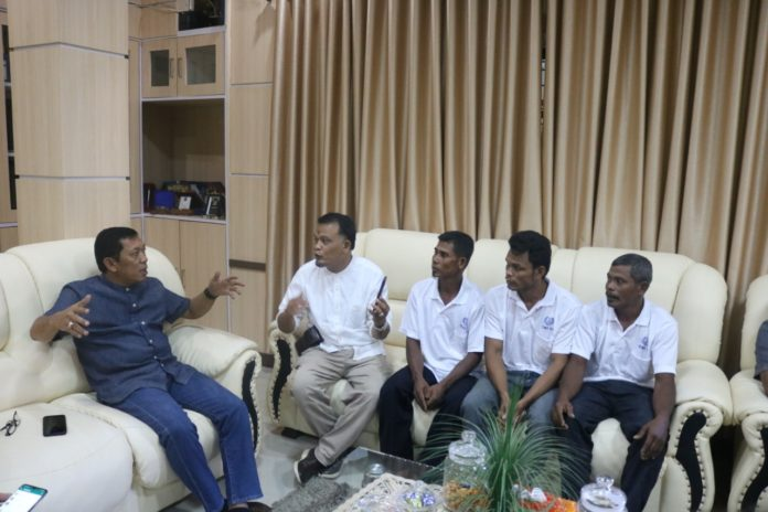 Tiga Nelayan Aceh Timur Dipulangkan dari Malaysia