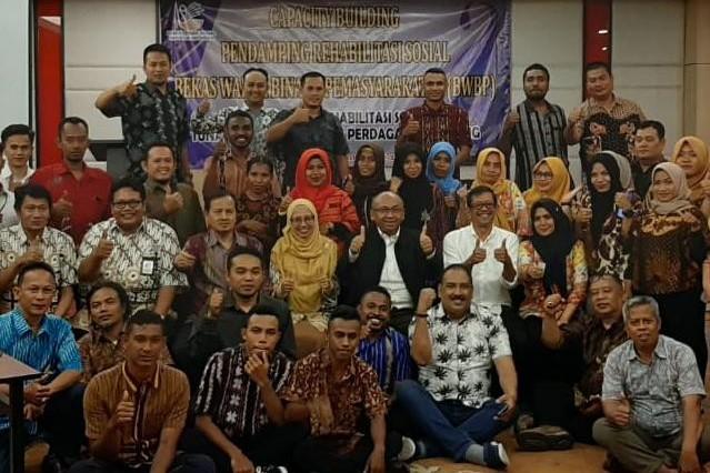 Kemensos Perkuat Kapasitas Pendamping Eks Napiter Aceh