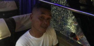 Laga Perserang Vs Persiraja Diwarnai 5 Kartu Merah dan Pelemparan Bus Pemain