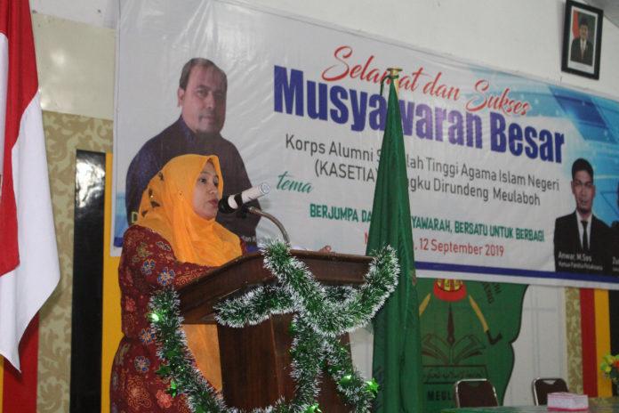 Alumni Berperan Penting Majukan Kampus STAIN Teungku Dirundeng Meulaboh