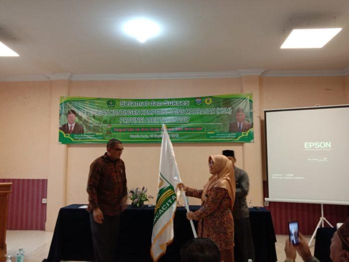 20 Siswa Aceh Ikuti Kompetisi Sains Madrasah Tingkat Nasional di Manado
