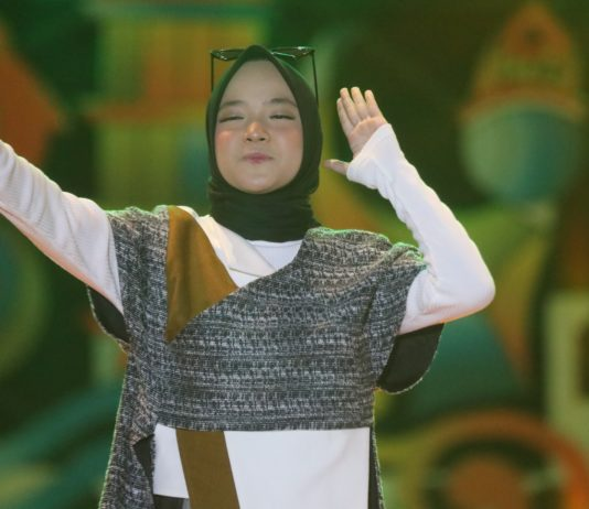 Nissa Sabyan Meriahkan Penutupan Aceh International Percussion 2019 di Bireuen