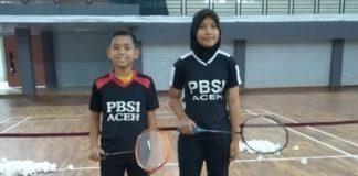 PBSI Aceh Kirim 2 Pebulutangkis Muda Ikut Audisi PB Djarum di Surabaya