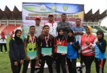 Pidie Juara Umum Kejurda Atletik Aceh 2019